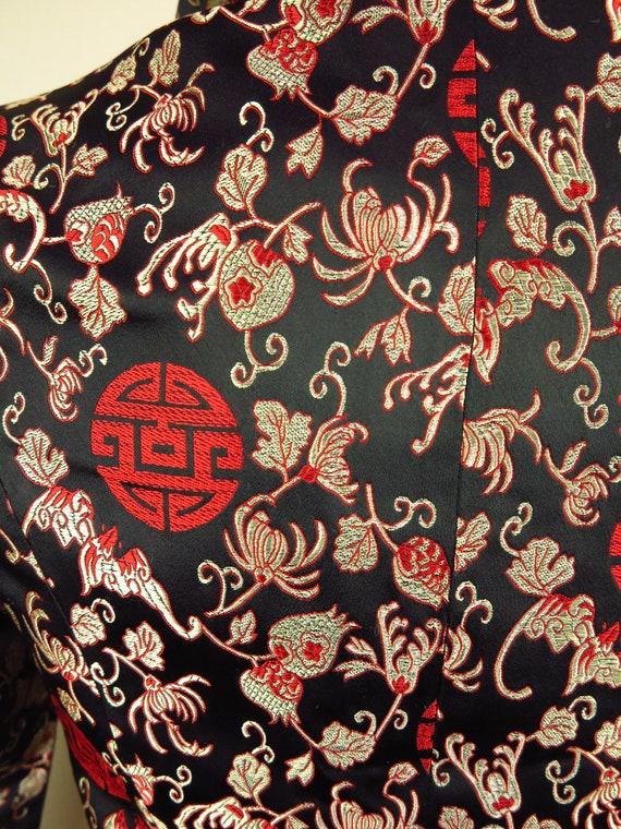 Asian Style Jacket  / Cheongsam Dress Jacket / Qi… - image 9