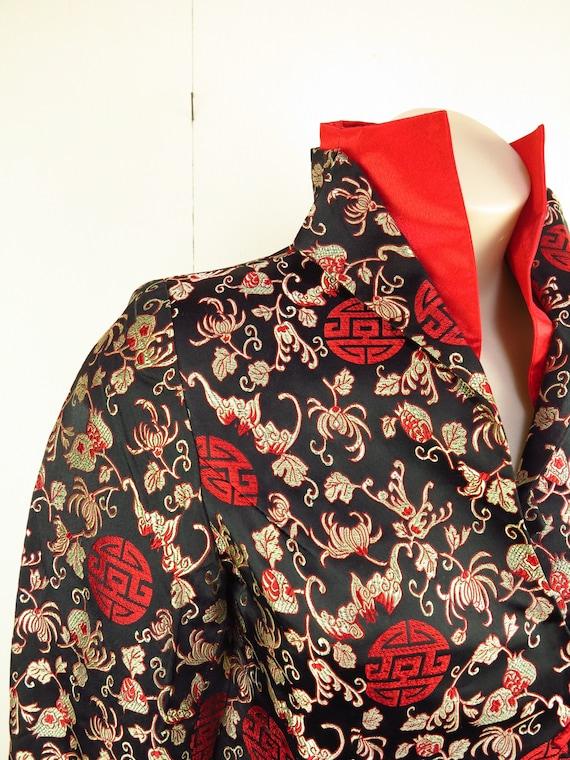 Asian Style Jacket  / Cheongsam Dress Jacket / Qi… - image 3