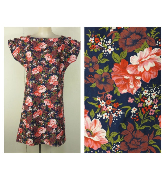 Vintage 80s By Choice Summer Floral Mini Dress