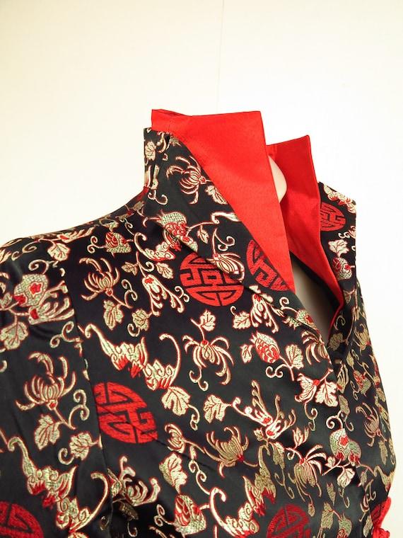 Asian Style Jacket  / Cheongsam Dress Jacket / Qi… - image 10