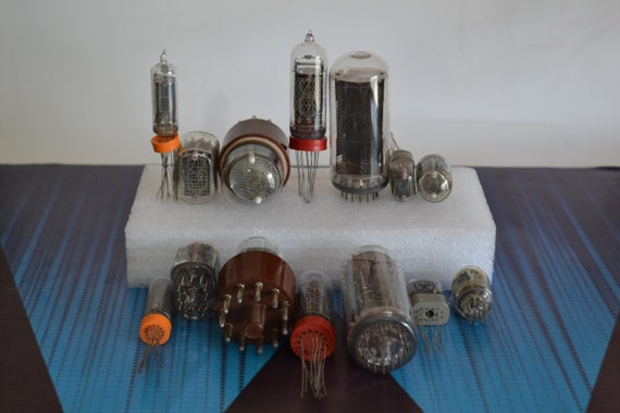 2 Tube Tested NOS 4 6 or 8 pcs IN-16 Ussr One party One date New Nixie Tubes for Clock