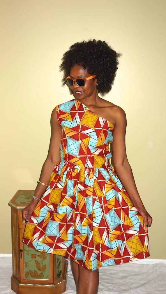 Print Wax Women's Evening African African Dress Sexy Dresses Midi African Ankara Clothing African Clothing Dress Party Dress Dress axqcEO