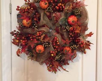 Berry Fall Wreath