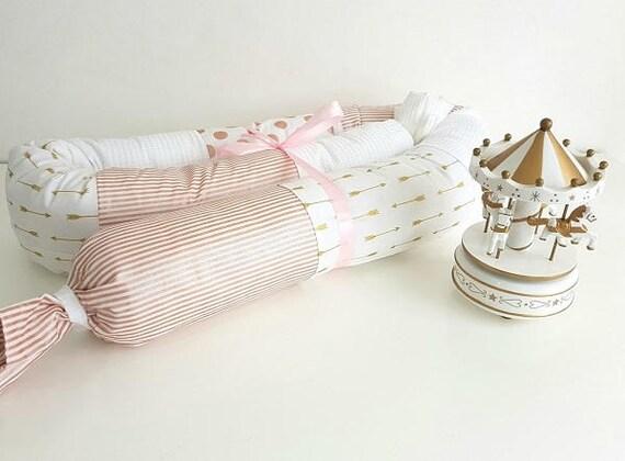 Baby schlange kissen gold rose pfeile streifen & punkte etsy
