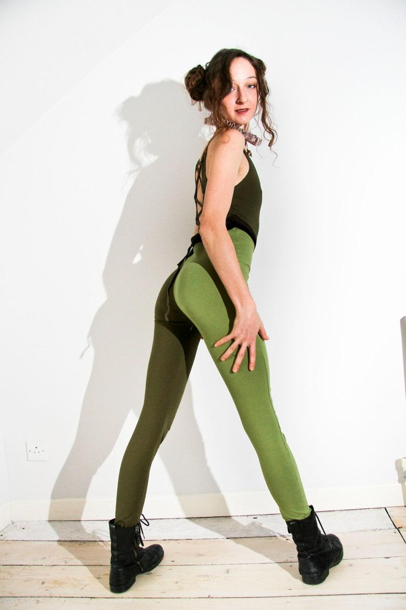 Harliquin Catsuit green
