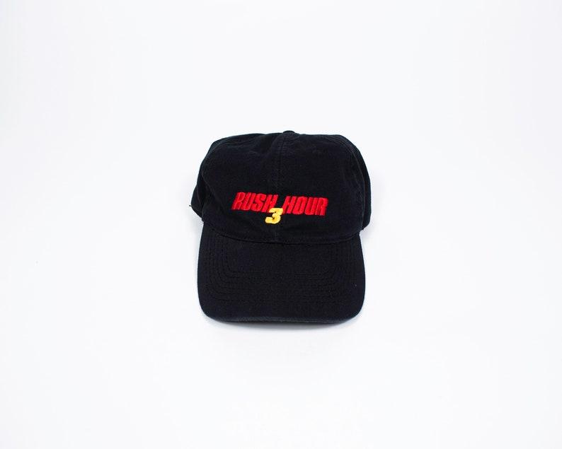 535f0216c75b2 Vintage Rush Hour 3 Strap back Hat