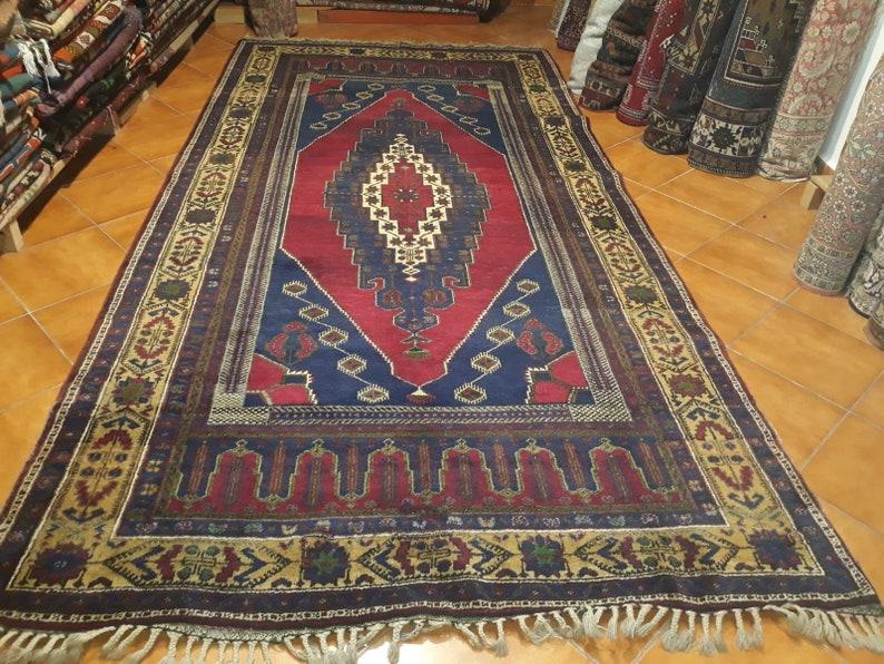 Large rug size 11.15x5.57 Handwoven Vintage taşpınar Carpet | Etsy