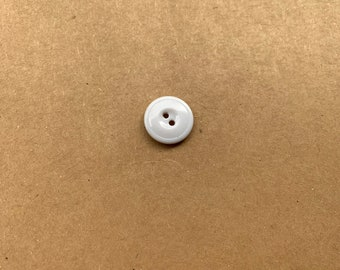 White Button Replacement for Jackets | Vintage buttons