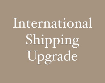 International Shipping Upgrade -Priority International