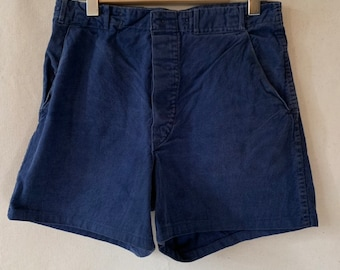 Hanger Sale FINAL Sale | Vintage 31 Waist Blue Denim Shorts | DS25