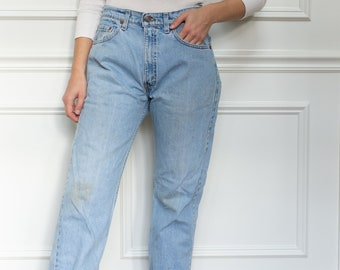 Vintage 31 Waist Levi 505 Jeans | vintage levi jeans | Levi Denim | Red Tab | Made in USA