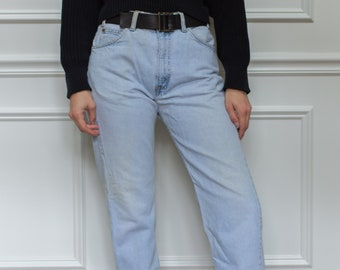 Vintage 31 Waist Levi 505 Jeans | vintage levi jeans | Levi Denim | Orange Tab | Made in USA