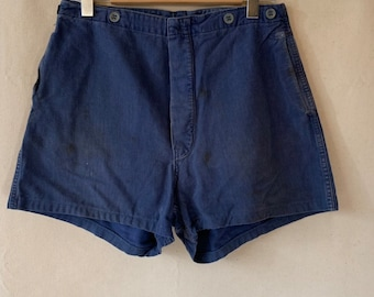 Hanger Sale FINAL Sale | Vintage 31 Waist Blue Denim Shorts | DS20