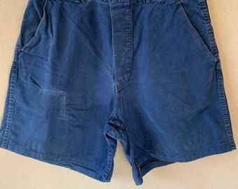 Hanger Sale FINAL Sale | Vintage 31 Waist Blue Denim Shorts | DS17