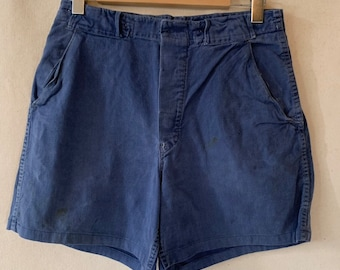 Hanger Sale FINAL Sale | Vintage 31 Waist Blue Denim Shorts | DS27