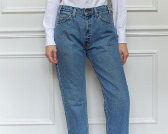 Vintage 32 Waist Levi 505 Jeans   vintage levi jeans   Levi Denim   Orange Tab   Made in USA