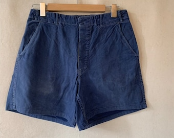 Hanger Sale FINAL Sale | Vintage 31 Waist Blue Denim Shorts | DS28