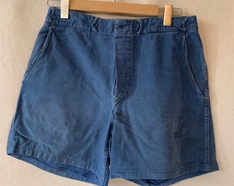Hanger Sale FINAL Sale | Vintage 31 Waist Blue Denim Shorts | DS29