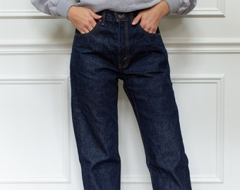 Vintage 32 Waist Levi 505 Jeans | Dark Wash vintage levi jeans | Levi Denim | Made in USA