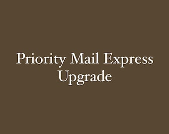 Shipping Upgrade -Priority Express