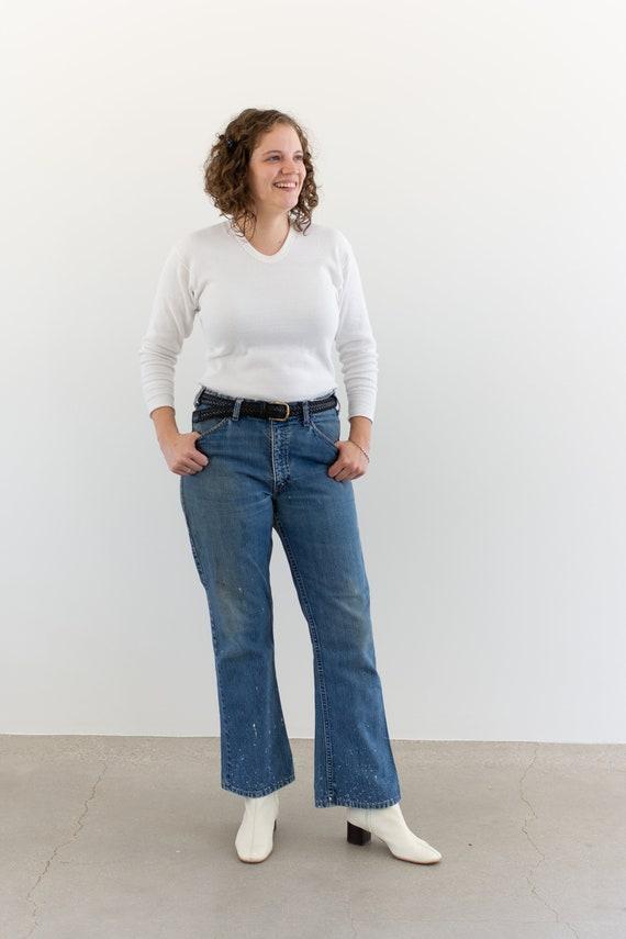 Vintage 32 33 Waist Levi 517 Jeans   vintage levi