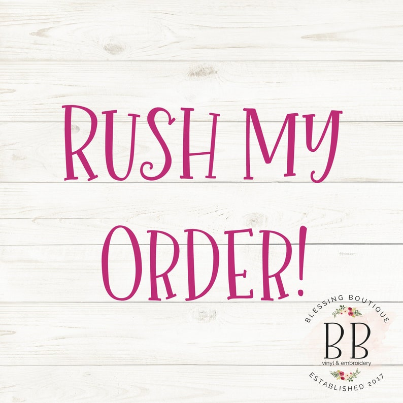 RUSH LISTING for YOU
