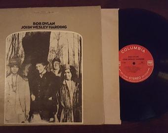 Vintage - Bob Dylan - John Wesley Harding, Vinyl, LP, Album, Stereo, 1968 Columbia CS 9604