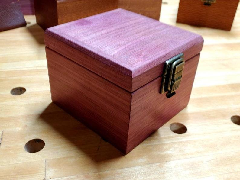 Purpleheart EDH deck box magic the gathering deck box
