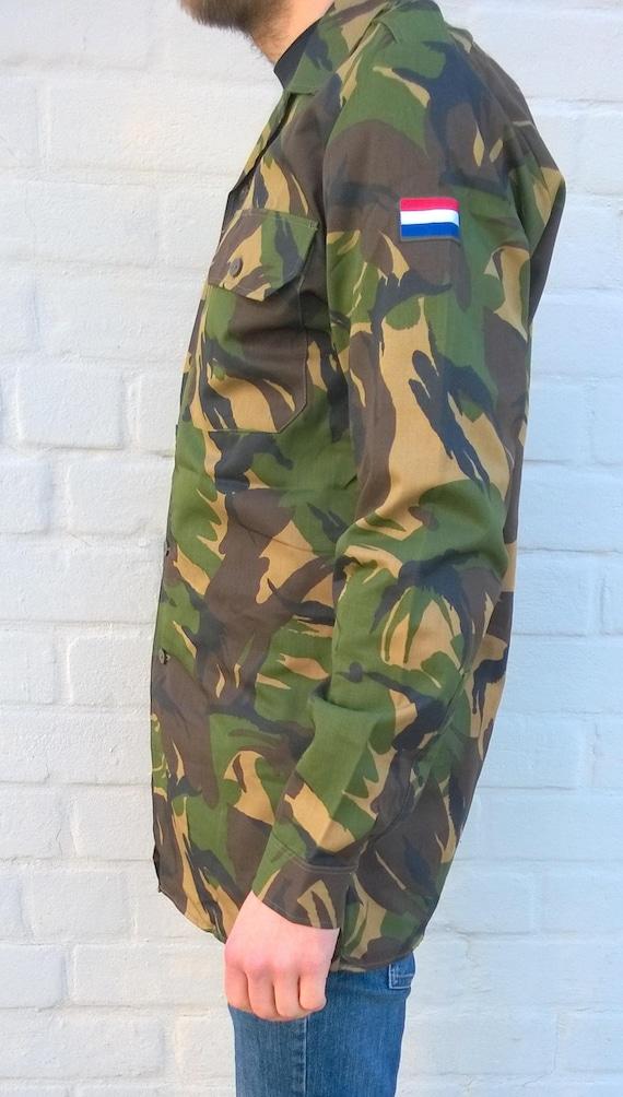 Niederländische Armee Feldjacke Camo Herrenhemd militärische | Etsy