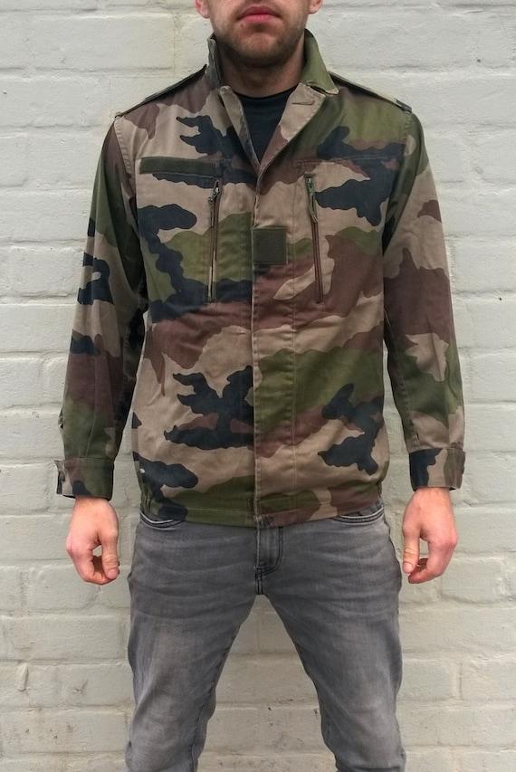 pietra Più grande marchio bomber in jersey mimetico Uomo