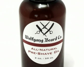 All Natural Pre-Shave Oil
