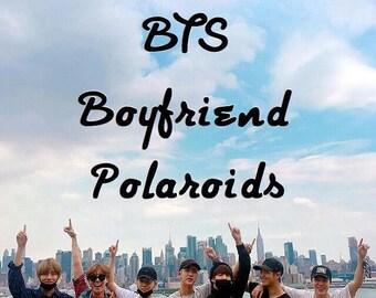 "BTS Boyfriend Polaroids | Set#1 |  use the code ""SUMMERBREAK"" to get 10% off your order"