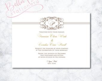 Francesca Wedding Invitation Design
