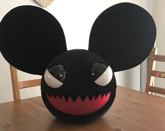 evil deadmau5 helmet head halloween costume