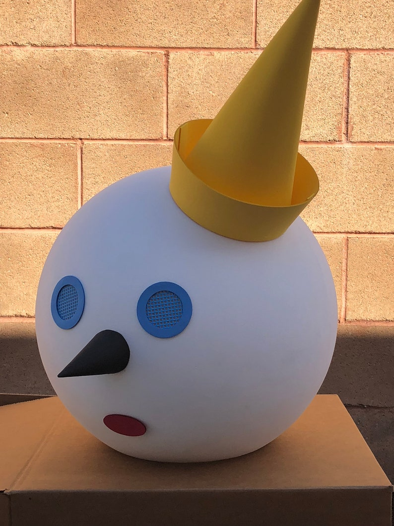 Jack in the box head halloween costume kids and adults