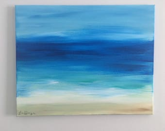 Beach Haven- Beach Art, Original Painting