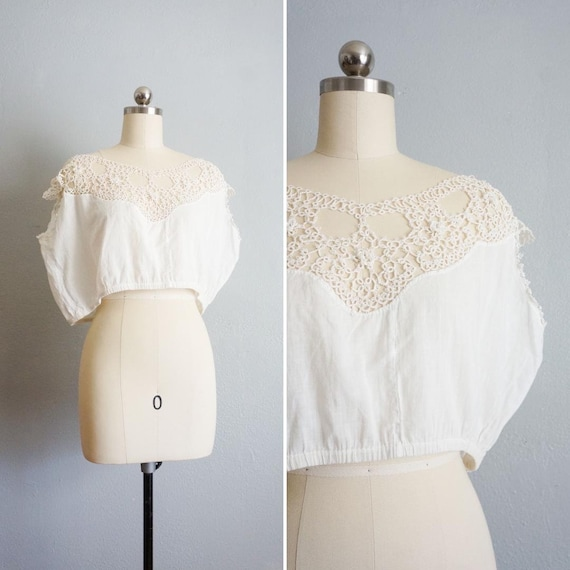 Edwardian Mountain Songs corset cover top | 1910s