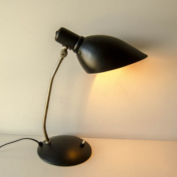 Bauhaus Lamp Unique Lighting | Antique Desk Lamp | Space Age Lamp