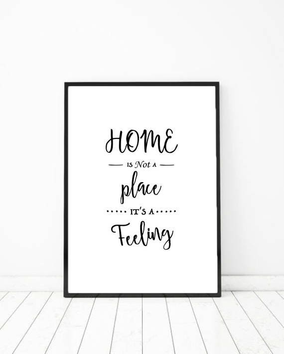 new home print new home quotes house warming print