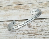 Once By My Side, Forever In My Heart Bracelet, Personalized Dog Memorial Cuff, Pet Remembrance Jewelry, Loss Of Pet Gift, Pet Lover