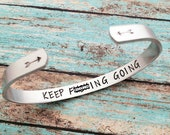 Keep Fucking Going Bracelet, Adult Encouragement Gift, Suicide Awareness, Keep Going Bracelet, Don 39 t Give Up Gift, Thinking Of You Gift