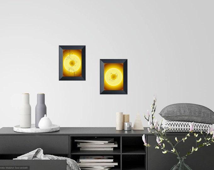 Download, picture, print, wall, art, decor, sayings, digital download, geometrie, cat