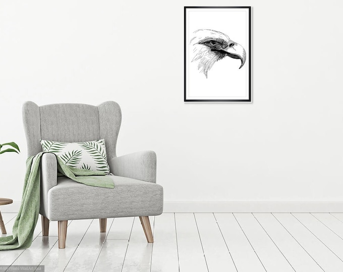 Print Wall Art Decor Photography Large Printable Poster Digital Download Picture Canvas Eagle Download Digital