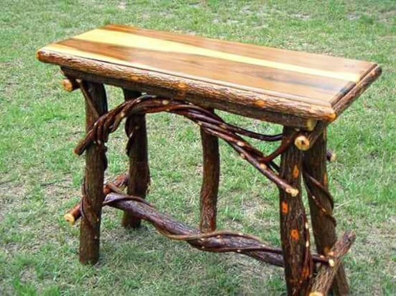Phenomenal Rustic Sofa Table Rustic Console Table Squirreltailoven Fun Painted Chair Ideas Images Squirreltailovenorg