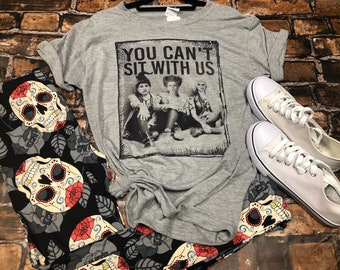 7b733847c You cant sit with us   Hocus Pocus   mean girls   halloween   graphic tees  for women   womens graphic tee   womens clothing   boutique