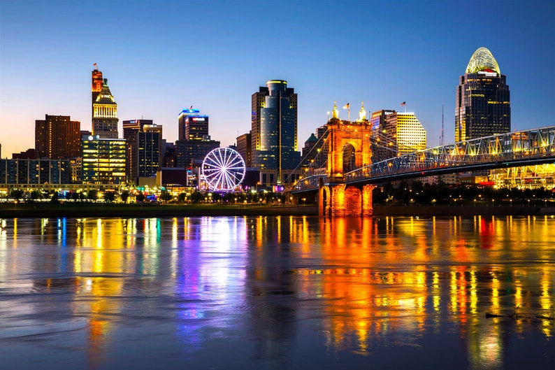 Image result for cincinnati skyline