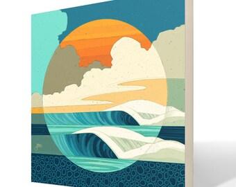 Intersessions 2 Fine Art Wood Print