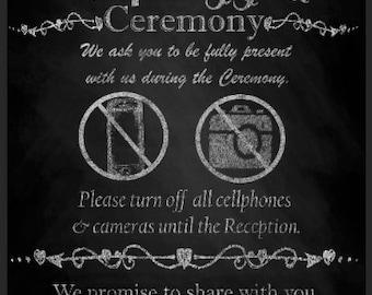 Unplugged Ceremony