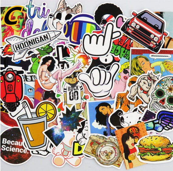 Stickers Pack(400pcs)Funny Stickers for Laptops,Stickers for
