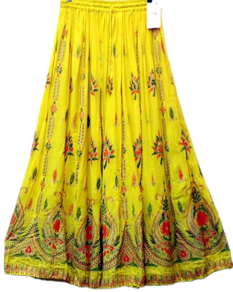 2cb962bd41 Boho Indian Gypsy Skirt Women Long Skirt Hippie Dance Skirt | Etsy